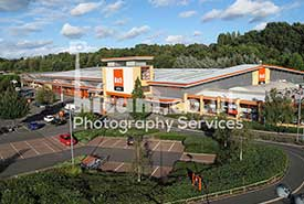 Mast Photography of B&Q DIY Store in Kidderminster, Worcestershire