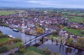 Aerial Photo of Upton upon Severn